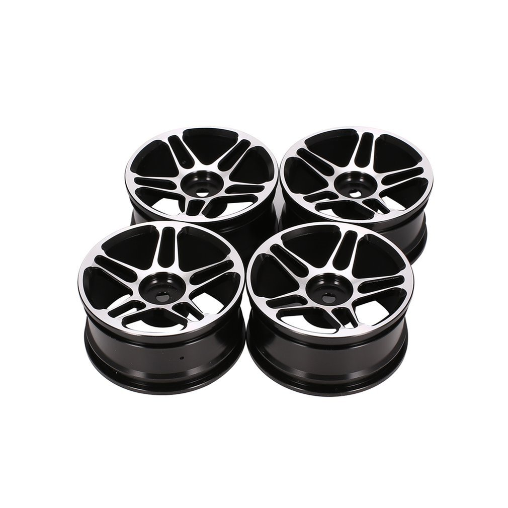 4pcs RC 1//10 Aluminum Alloy Cool Rim Wheel for On Road Drift Touring Car Upgrade