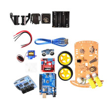 Smart Car Tracking Motor Smart Robot Car Chassis Kit 2WD Ultrasonic Arduino(China)
