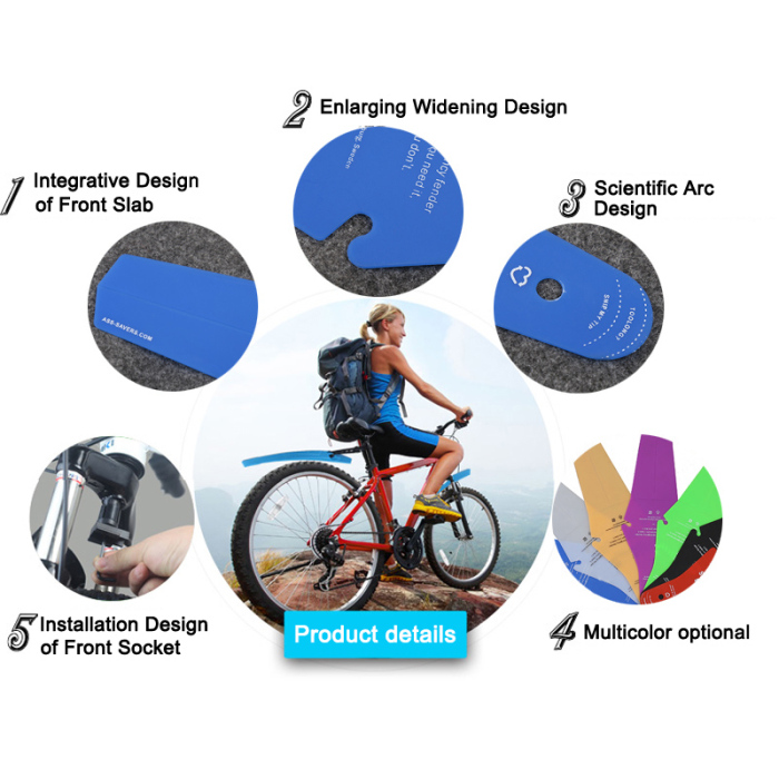 Accessories Wings Decorative Mudguard Bicycle Part Rear Fenders Saddle Savers