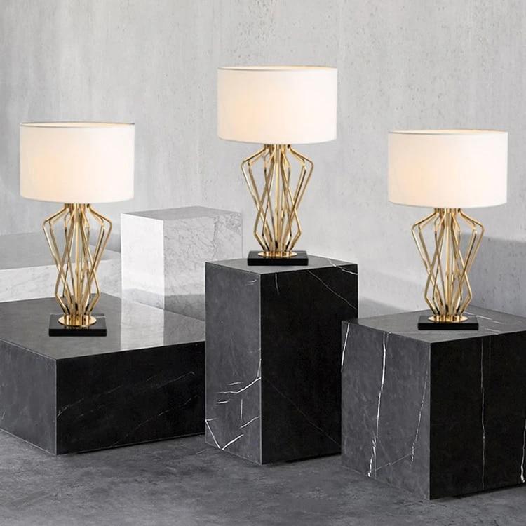 Modern Table Lamp E27 Gold Table Lamp Black Table Light Reading Light Fancy Lighting Project Lighting Led Table Lamps Aliexpress