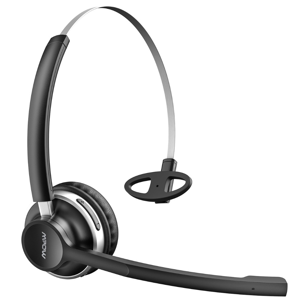 Mpow HC3 Bluetooth Headphones Crystal Clear Wireless Headphones With Dual Noise Canceling Microphones For Call Center&Trucker (9)