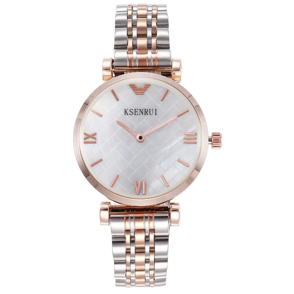 ali zegarek srebrny różowo złoty