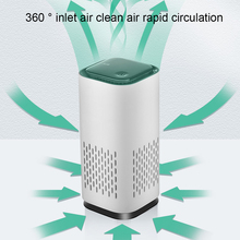 цена на Portable Deodorizer Air Purifier USB Rechargeable Fridge Purifier Air Space Cleaner For Office Car Room Pets