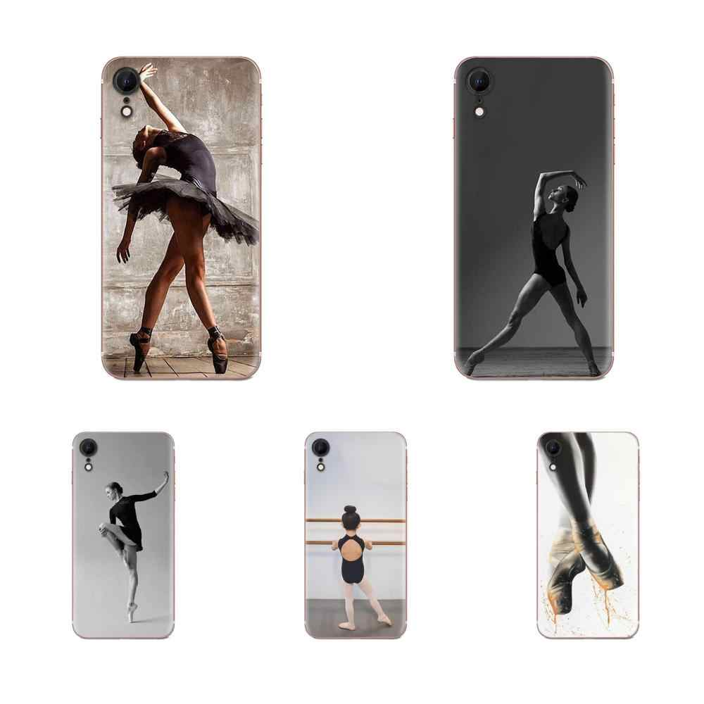 Ballet Dance Girl For Apple iPhone 11 Pro X XS Max XR 4 4S 5 5C 5S SE 6 6S 7 8 Plus Classic Phone Accessories Case