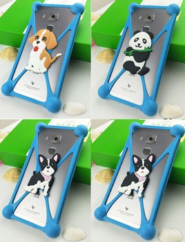 Fashion Cartoon Silicone Phone Case for Vertex Impress Calypso for Irbis SP58 SP56 for Siswoo C55 Longbow for Senseit T300 image