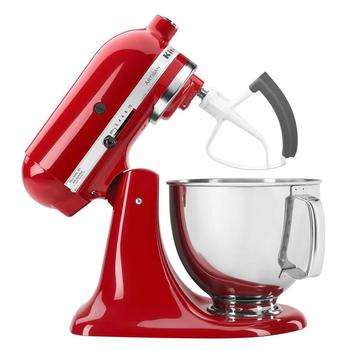 Flex Edge Beater fit for KitchenAid Tilt-Head Stand Mixer 4.5 & 5qt K45SS Mixing Beater Blade Kitchen Tools Supplies ka 5l 5 quart flex edge beater for kitchenaid bowl lift stand mixers plastic flat beater paddle with silicone edges
