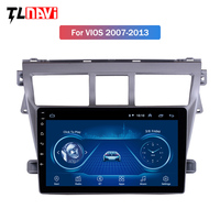 GPS Auto Stereo 9 Car Radio For 2007 2008 2009 2010 2011 2012 Toyota VIOS Yaris Android 8.1 Multimedia Player Support 1080P