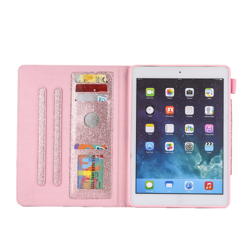 iPad Cover Funda Case 10.2 Bling 2019 Coque inch Leather For 7th 10.2 For Glitter iPad