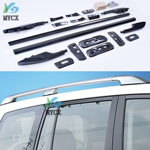 OE roof rack roof bar luggage rail For Toyota Land Cruiser 200 V8 LC 200 LC200 FJ200 2008-2018,silver or black,quality supplier