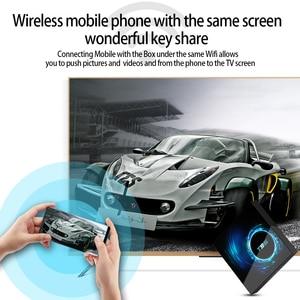 Image 4 - Caixa de tv 6k sem fio t95 h616, android 10.0, 2.4g 4gb 64gb, youtube quad core 1080p h.265 conjunto de media player caixa superior