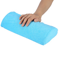 10 Colors Soft Hand Palm Rest Manicure Table Washable Hand Cushion Pillow Holder Arm Rests Nail Art Stand for Manicure Pillow