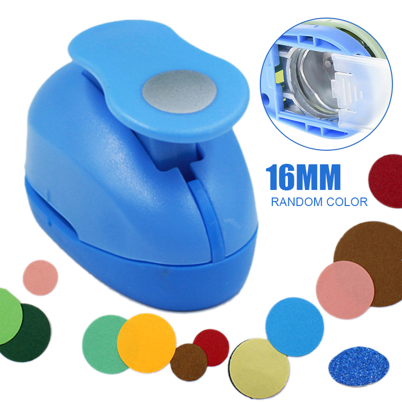 16mm Medium Round Circle Shape Paper Craft Punch DIY Hole Punch Tool For Kids DIY Scrapbook Paper Cutter Embossing Puncher