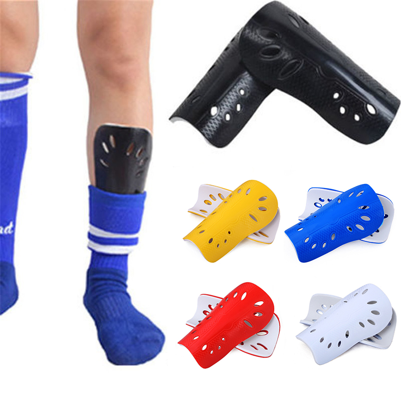 Children's football sports shin guards adult football shin guards solid color calf protector calf insert plate sports protector