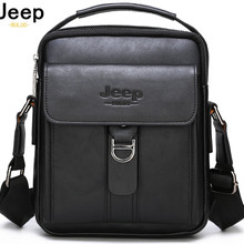 JEEP BULUO Brand Man's Shoulder Messenger Bag New High Quality Leather Crossbody
