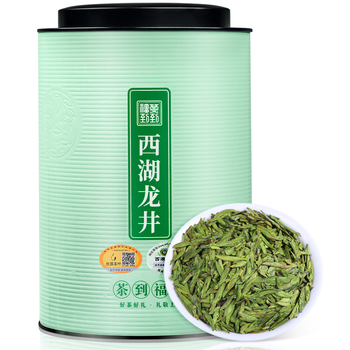 Tea Green Tea Authentic West Lake Dragon Well Tea  nian Tea Tea Produced before Tomb-Sweeping Day Spring Bulk Tanks Installed 2