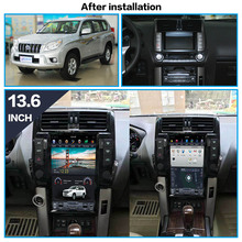 Tesla style Android 8.1 Car Multimedia Player for TOYOTA Land Cruiser Prado 150 2010-2013 GPS Radio stereo big screen head unit