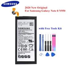 100% 원래 배터리 EB BN950ABE 삼성 갤럭시 노트 8 N950 SM N950F N950FD N950U/U1 N950W N950N N9500 Note8 3300mAh Akku