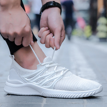 Summer Breathable Sneakers Men Lightweight Mesh Athletics Running Shoes Male Nonslip Sports Shoes Zapatillas Hombre Deportiva цена