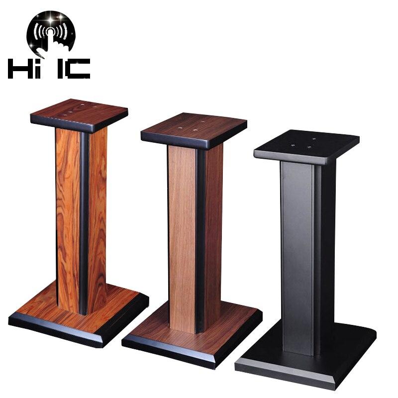 1 Pair/2pc Bookshelf Speaker Stand Support Bracket Foot Rack Can Strong Fill In Sand Shock Absorber Shelf Foot