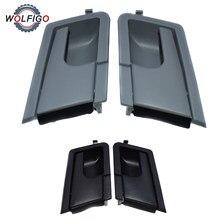 WOLFIGO delantera izquierda derecha manija de puerta Interior para VW EuroVan transportador Caravelle T4 1990-2003 de 12463992 701837019A 701837020A