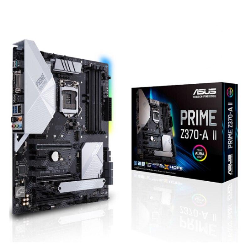 Asus PRIME Z370-A II, placa base de escritorio Intel Z370 LGA 1151 DDR4 PCI-E 3,0, placa base atxoriginal Procesador Intel Core™I5-8400 2,8 Ghz 9 MB LGA 1151 caja