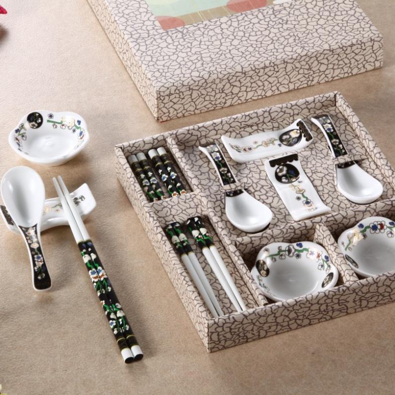 En soldes | Porcelaine wind créative vaisselle en céramique | Service de vaisselle, vaisselle de table, service de sushi, cadeau avec boîte, gros