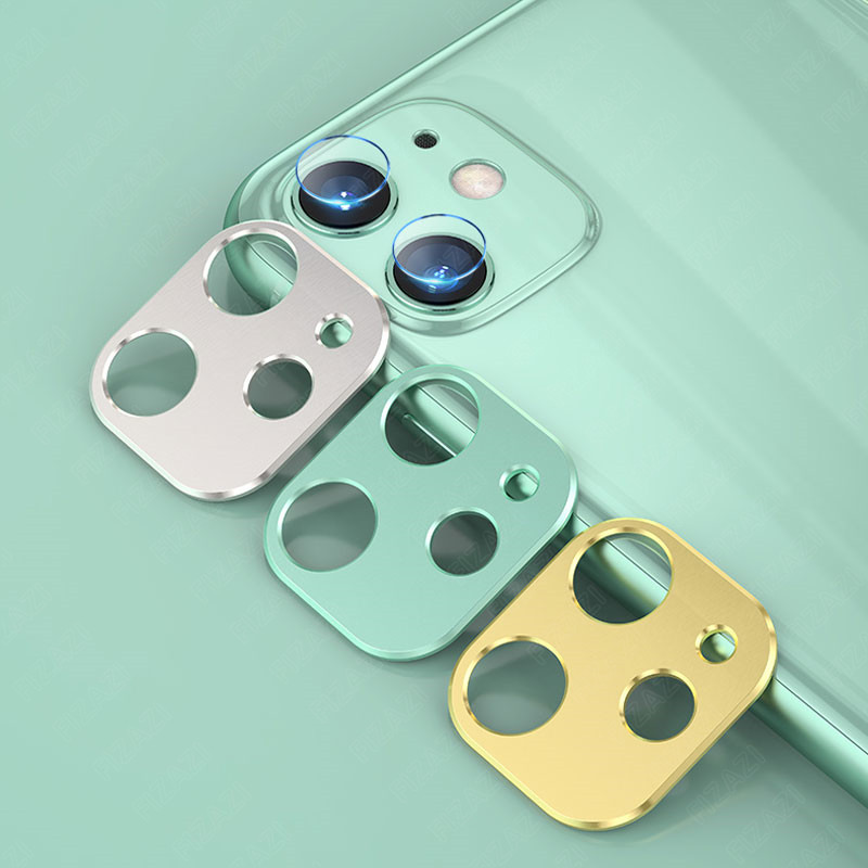 2 in 1 Back Camera Lens Glass For iPhone 11 Pro Max Camera Case Cover For