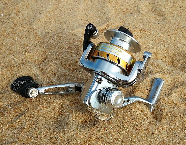 pesca proporção 5:1 preto carretel peixe