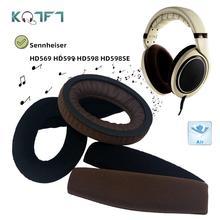 KQTFT رباط رأس بديل لسماعات الأذن ، لـ Sennheiser HD569 HD599 HD598 HD598SE ، غطاء ممتص للصدمات عالمي ، وسادة