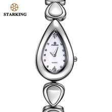 Женские кварцевые часы starking модные наручные из нержавеющей
