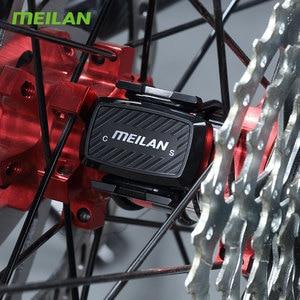 Image 2 - Bike  Cadence speedometer Bluetooth cycling sensor 4.0 ANT+ Internal rotation track Meilan C1  For GARMIN BRYTON igpsport  XOSS