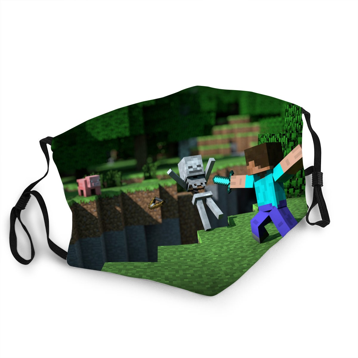 Детская маска для лица My World Классическая игра маска для косплея Pm2.5 защитный фильтр многоразовая ткань маска для взрослых/детей