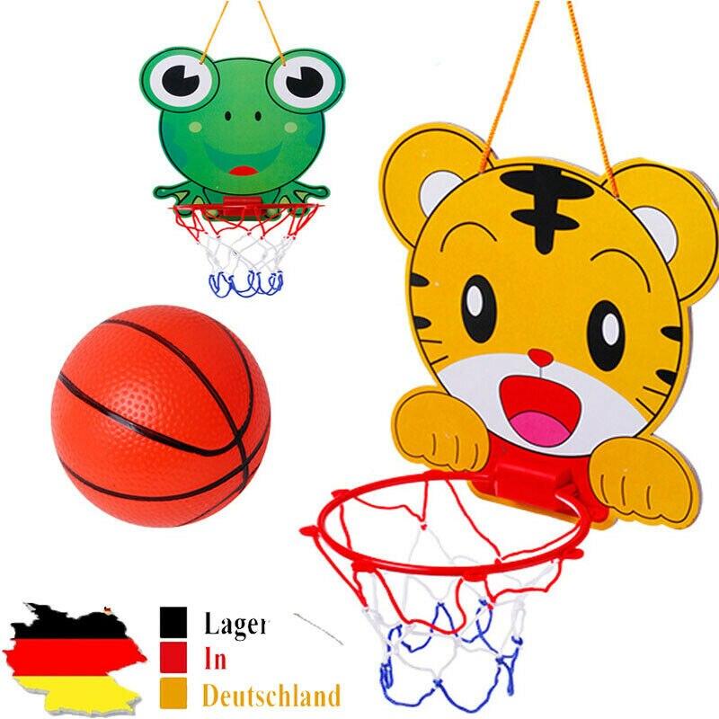 Hanging Basketball Board Hoop Toys Set Indoor Junior Net For Children