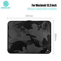 style protective NILLKIN Laptop Bag Protective Anti Bump Water-resistant Sleeve Pouch Case Bag For Macbook air 13 case Camouflage style Cace (1)
