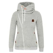 Crop Hoodie Sweatshirts Streetwear Clothing Cotton Solid Zip-up Outerwear Womens Korean Hoodie Zipped Plus Size Hooded Coat New crop hoodie