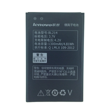 2pcs NEW Original 1300mAh bl214  battery for LENOVO High Quality Battery+Tracking Number