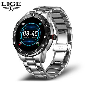 LIGE New Smart Watch men And women Sports watch Blood pressure Sleep monitoring Fitness tracker Android ios pedometer Smartwatch 9