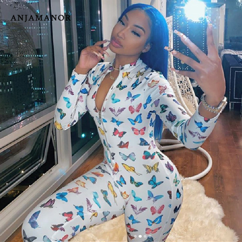 SportsX Women Coat Floral Printing Two Pieces Sets Long Sleeve Jumpsuit Trousers