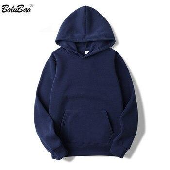 BOLUBAO Fashion Brand Men's Hoodies 2019 Spring Autumn Male Casual Hoodies Sweatshirts Men's Solid Color Hoodies Sweatshirt Tops 1