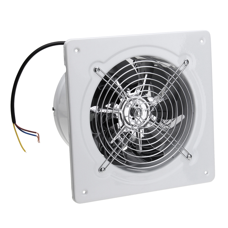 EASY-4 Inch 20W 220V High Speed Exhaust Fan Toilet Kitchen Bathroom Hanging Wall Window Glass Small Ventilator Extractor Exhaust