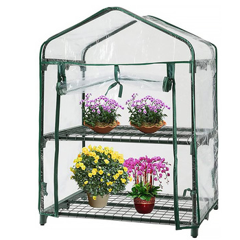 Szklarnia na zewnątrz rosną namiot z tworzywa sztucznego ogród zielony dom okna otwarcie dla gospodarstwa ogród powiększająca torba rosną dom tanie i dobre opinie