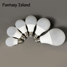 Fantasy Island Wide Pressure Bulb AC85-265V 3/5/7/9/12/15W LED Retro Light Led E27 Bulbs 220V