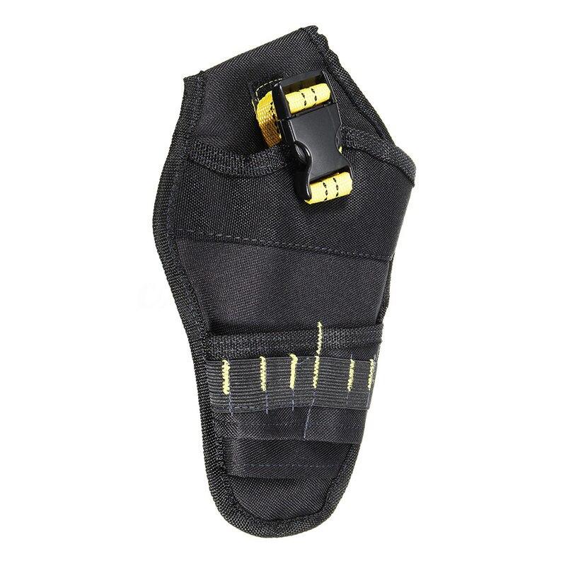 Drill Holster Cordless Tool Heavy-Duty Tool Belt Pouch Holder Belt Bag Pocket