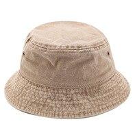 Sombrero de pescador vaquero desgastado, gorra de pescador lavada, doble cara, para verano, parasol para exteriores, sombreros informales, 2020