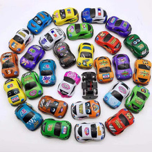 5PCS Cartoon Toys Cute Plastic Pull Back Cars Toy for Child Wheels Mini Car Model Funny Kids Toys for Boys Girls Children 6pcs lot multicolor plastic cartoon mini pull back boy car model toys set educational toy for children car toys