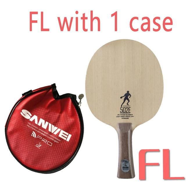carbonade type Details about  /FL SANWEI 502E TABLE TENNIS BLADE 5w free bat cover 2 carbon