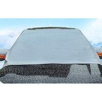 자동차 앞 유리 눈 & 얼음 커버 서리 가드 와이퍼 바이저 프로텍터 Windproof Auto Sun Shade for Car Minivan and SUV