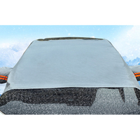 Car Windshield Snow & Ice Cover Frost Guard Wiper Visor Protector Windproof Auto Sun Shade for Car Minivan and SUV|Car Covers| |  -