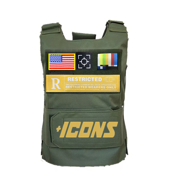 Amarican Flags Green Trending CS Vest Tactical Military Vest Special Forces Hunting Clothing Fishing Hiking Horse Riding Vests