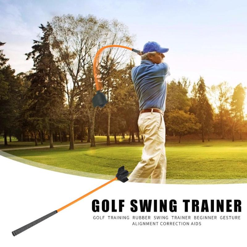 Durable Golf Training Tool Swing Trainer Hit Color Outdoor Sport Golf Training Accessory For Warm-up Enhance Strength